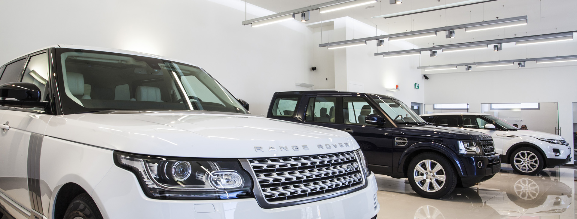 Land Rover Showroom Haifa